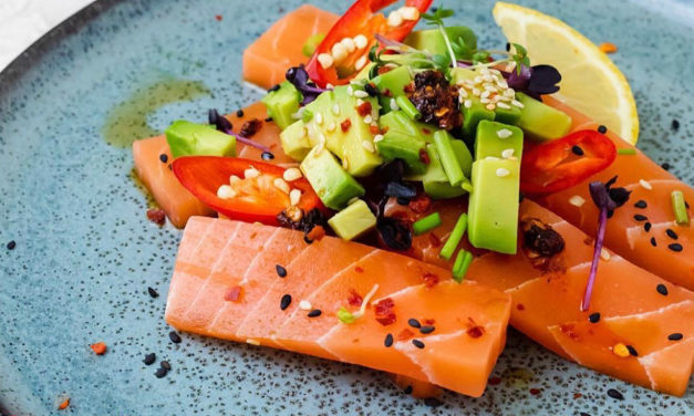 Veganes Sushi und Sashimi