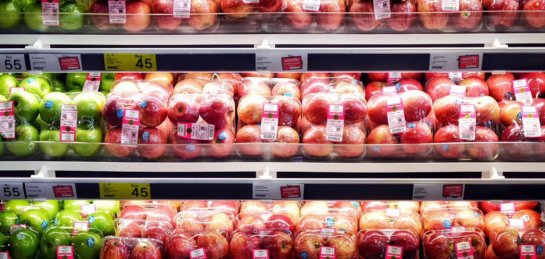 Supermarktäpfel