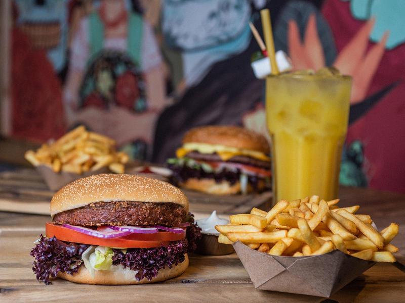 BeyondMeat Burger