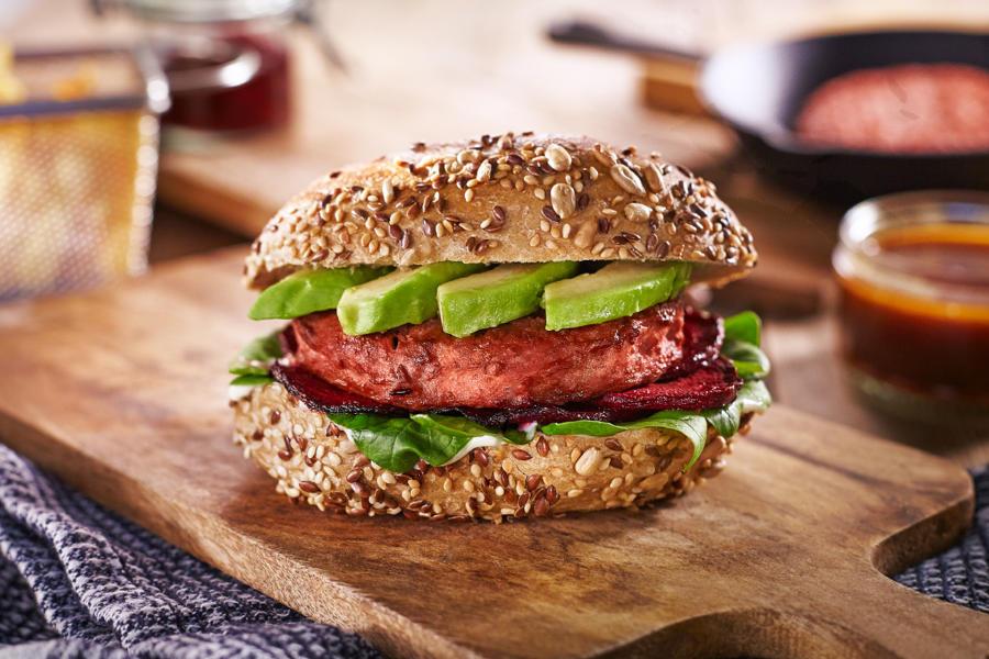 Transgourmet veganer Burger